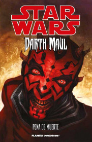 Star Wars Darth Maul pena de muerte