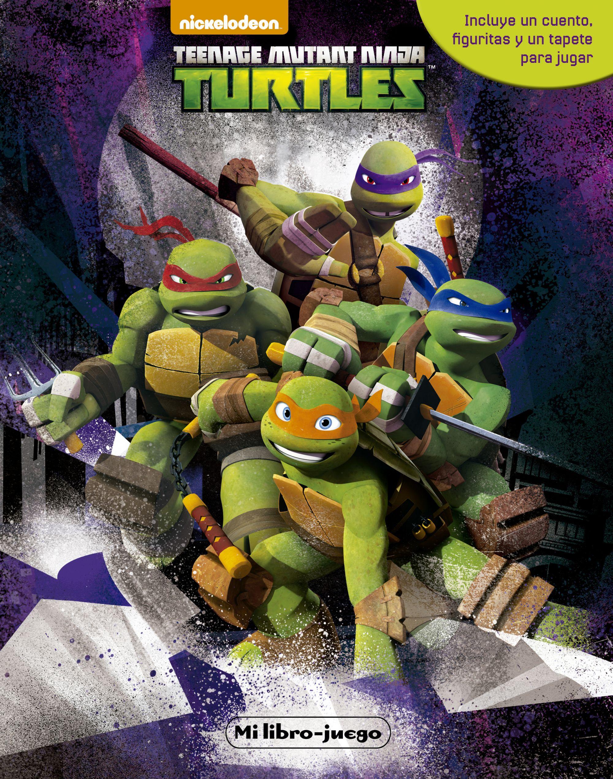 Contemporáneo Tortugas Ninja Mutantes Adolescentes Para Colorear ...