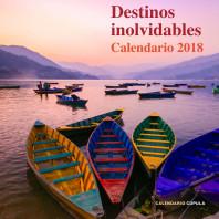 Calendadio Destinos inolvidables 2018