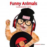 Calendario Funny Animals 2018
