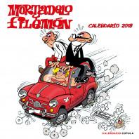 Calendario Mortadelo y Filemón 2018