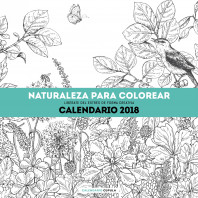 Calendario Naturaleza para colorear 2018