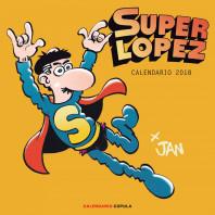 Calendario Superlópez 2018