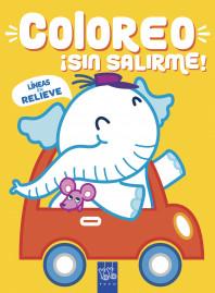Coloreo ¡sin salirme! Elefante