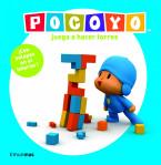 Pocoyó juega a hacer torres