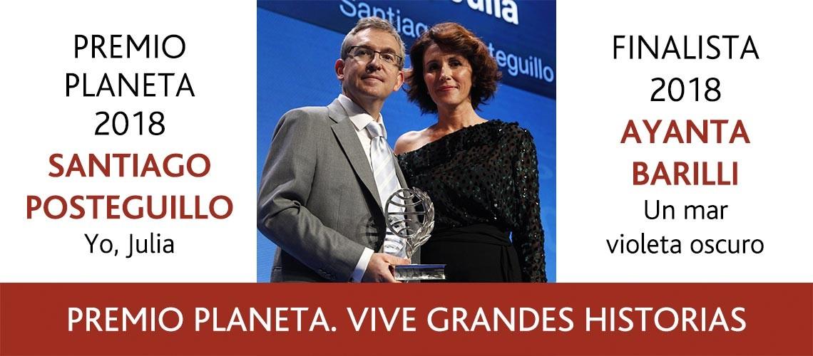 Ganadores Premio Planeta 2018